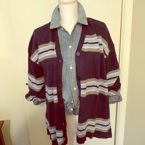NWT! Preppy striped cardigan from Nordstrom size M